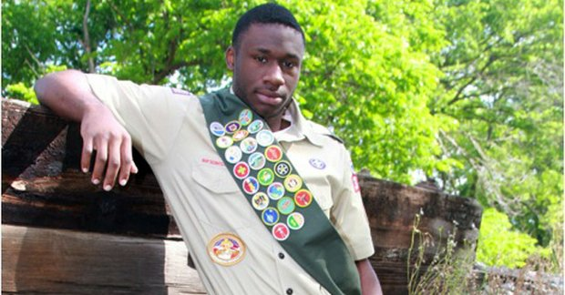 Noel Martin recently earned the rank of Eagle Scout in the Boys Scouts of America