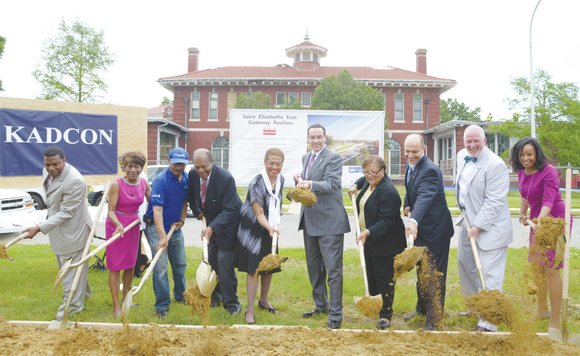 A sense of excitement permeated the air as District officials and community leaders in Ward 8 broke ground for the ...
