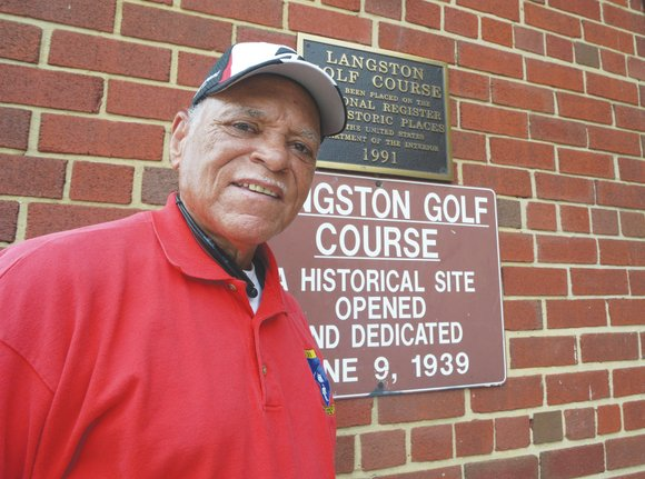 For many, like Ray Savoy, who regularly tees off at the historic Langston Golf Course in Northeast, the 74-year-old sports ...