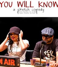 """Michal Roxie Johnson teamed with Walter J. Slowe III to craft sketches that reflect their experiences of losing a job and finding oneself in the arts or other passions in """"You Will Know"""" at Baltimore's Theatre Project June 27-30, 2013."""