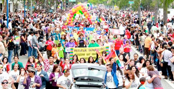WEST HOLLYWOOD, Calif. — The 43rd annual three-day Los Angeles LGBT Pride Celebration, Southern California's largest LGBT community gathering, starts ...