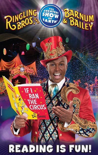 """Reading with Ringling Bros.!"" clown Rob Ringling will hold a performance for some K-3rd grade students at Yellowstone Academy on ..."
