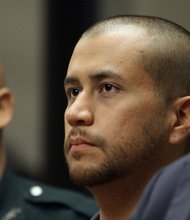 George Zimmerman, a neighborhood watch volunteer, is charged with second-degree murder for shooting Trayvon Martin on February 26, 2012.
