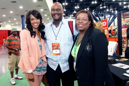 James Harris and actress Wendy Raquel Robinson