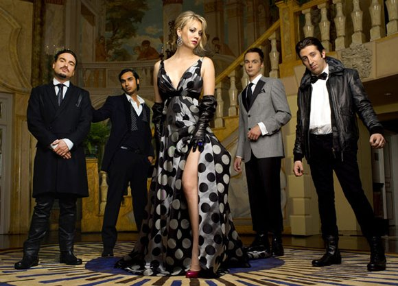 "CBS' ""The Big Bang Theory"" was named as best comedy series and cast members Kaley Cuoco and Simon Helberg also ..."