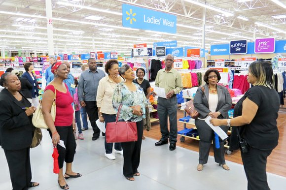 The new Stone Mountain Walmart opens for business June 12 at 8 a.m. Store manager Dan Fagan and his team ...