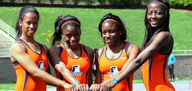 Morgan State Female Track Team