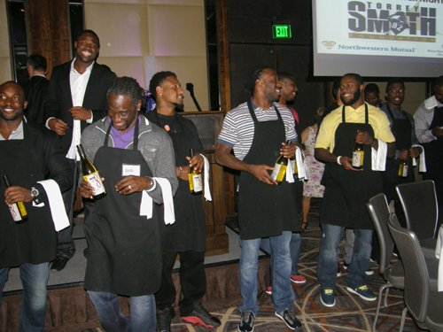Recently, several members of the team gave some VIP treatment of their own during Torrey Smith's 1st Annual Celebrity Waiter ...