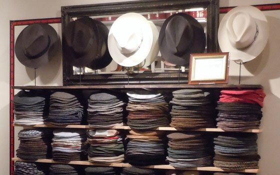 Salmagundi hat shop