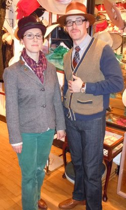 "Salmagundi owners Andria Rapagnola and Jessen Fitzpatrick say they cater to ""trend setters"" and ""independent thinkers."""