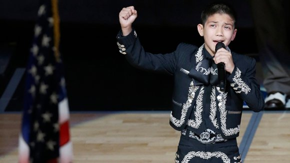 SAN ANTONIO, Tex. — In less than 48 hours, Sebastien de la Cruz has become a household name. The 11-year-old ...