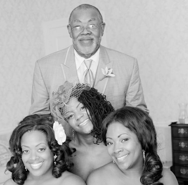 Daddy's Girls for Life!  A song for our daddy:  No one loves us just like you do.  No one knows us just like you do.  No one can compare to the way our eyes fit in yours.  You'll always be our father.  And we'll always be your joy. Jeryl Stewart with his daughters Jawan Smith, Jashawn, and Jarielle