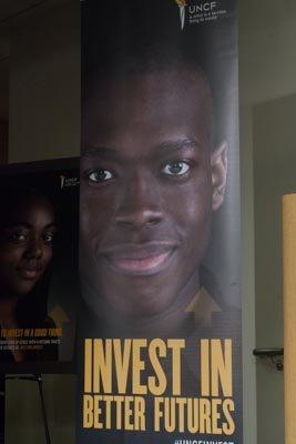 UNCF Better Futures campaign banner.