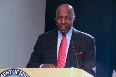 Vernon Jordan, UNCF past executive director.