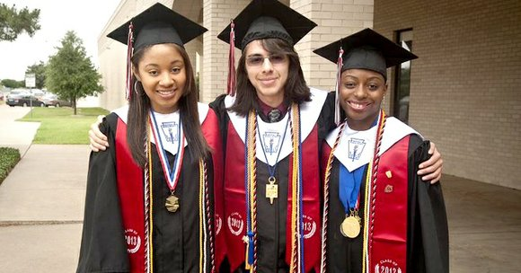 This year, 60 out of 61 seniors from Cedar Hill Collegiate High School participated in the Cedar Valley College Commencement ...