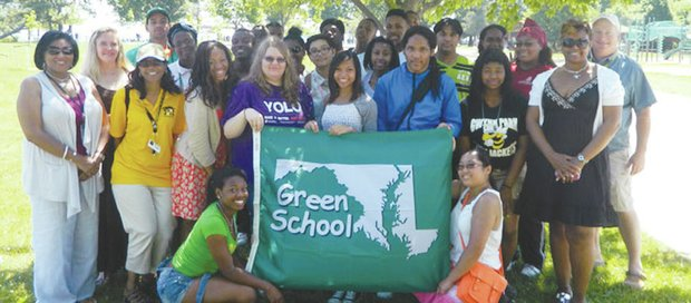 The Maryland Green School Awards program, sponsored by the Maryland Association for Environmental and Outdoor Education, is one of the most rigorous and comprehensive Green School certification programs in the country. (Courtesy Photo)
