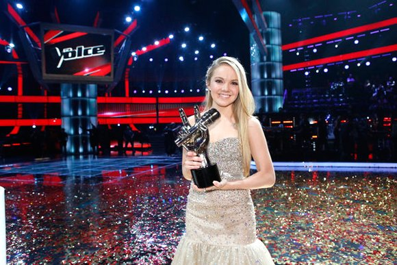 """The Voice"" crowned Texas teen Danielle Bradbery its new winner on Tuesday, proving to the country singer that she could ..."