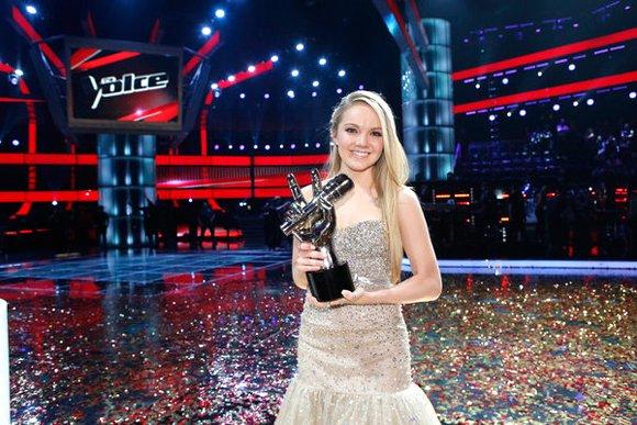 """The Voice"" winner Danielle Bradbery."
