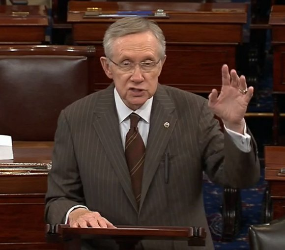 Sen. Majority Leader Harry Reid made it clear Wednesday where he stands on the issue of political representation and equal ...