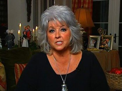 Paula Deen has been down for the past several months, but she won't be counted out.