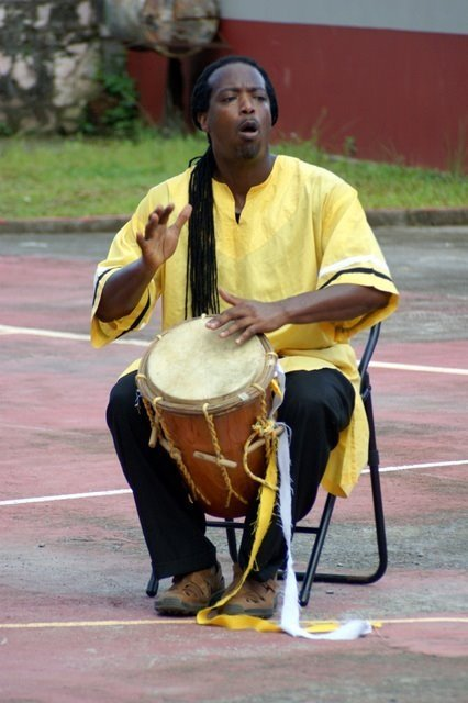 James Lovell wants to preserve the Garifuna language