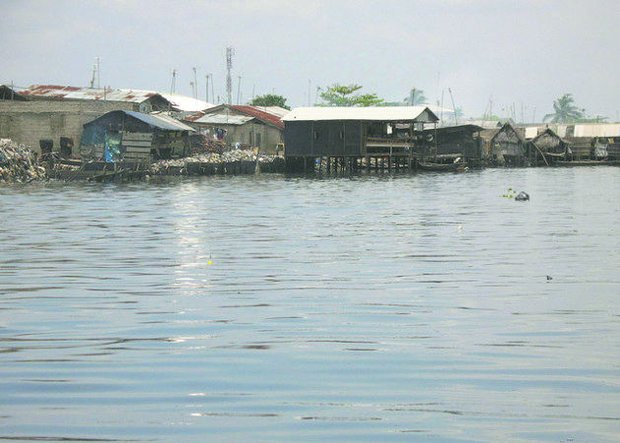 Ajegunle, a low-lying slum in Lagos, Nigeria. Analysts say that the Nigerian market itself is huge and underserved.