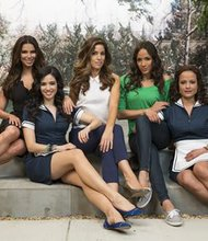 "The cast of ""Devious Maids"" from left: Roselyn Sanchez, Edy Ganem, Ana Ortiz, Dania Ramirez and Judy Reyes. TV history will be made Sunday night with the premiere of ""Devious Maids,"" the first prime-time program featuring an all-Latina leading cast. But even before the first episode has aired, the Lifetime show is receiving a slew of criticism."