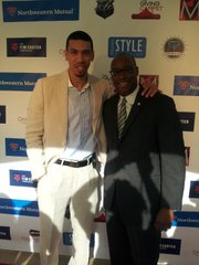 Danny Green and Councilman Larry Green