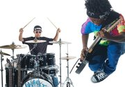 Eleven-year-olds comprise the metal band Unlocking the Truth, who hail from Flatbush, New York.