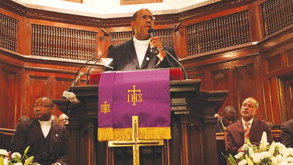 "Saying he was ""wrong,"" Rev. Gregory S. Groover Sr. admitted on the first day of his church's bankruptcy trial that ..."
