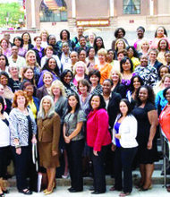 Participants in the Dress for Success Program