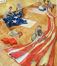 Beginning July 4, 2013, The Maryland Historical Society (MdHS) will recreate the 30 x 42 foot Star-Spangled Banner flag that inspired the writing of our national anthem.