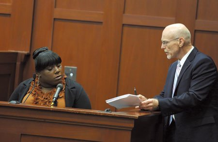 In a sometimes contentious cross-examination filled with testy exchanges in the George Zimmerman trial, defense attorney Don West peppered the ...