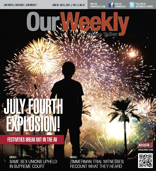 From Acton to Rosamond, a number of popular Independence Day events will take place next week in the Antelope Valley. ...