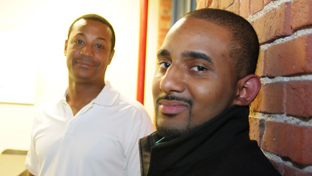 StartUpLab Allston founders Reginald Swift and L.V. Randolph provided startups with office space and assistance, such as writing a business plan and finding investors.