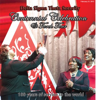 Delta Sigma Theta Sorority - Centennial Celebration and Torch Tour