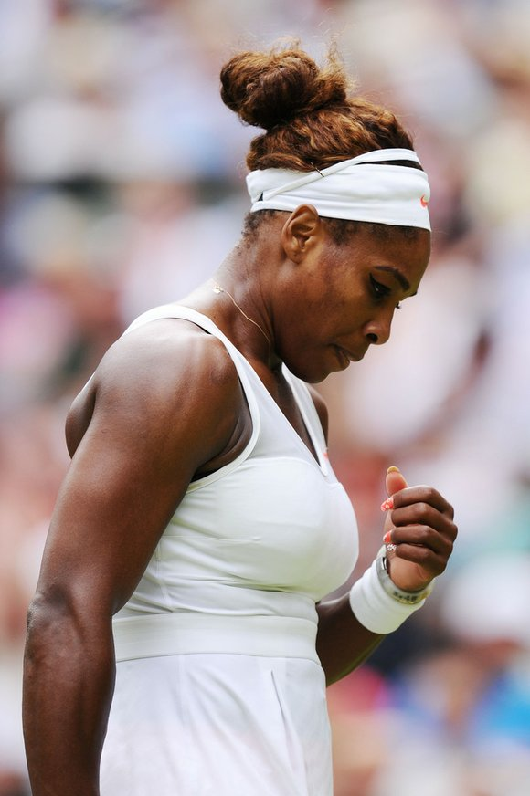 The world No. 1 and Wimbledon defending champion was beaten in the fourth round Monday by Sabine Lisicki 6-2, 1-6, ...