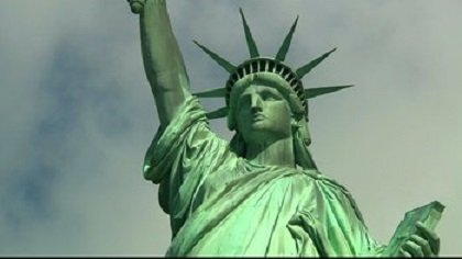Lady Liberty reopened her doors to the huddled masses Thursday, a big bright spot for an Independence Day dampened by ...
