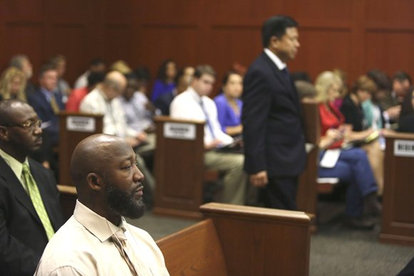 SANFORD, Fla. — A key piece of evidence was at the center of George Zimmerman's murder trial Friday.
