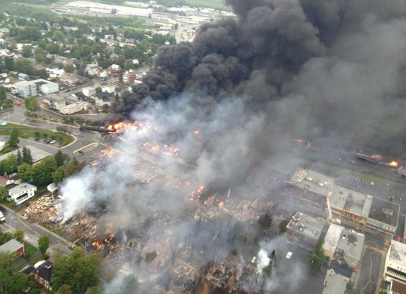LAC-MEGANTIC, Canada — Authorities said they hope to search more areas Monday for about 40 people still missing after a ...