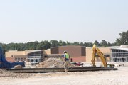 New 152,000 square foot Walmart nearing completion near Stonecrest Mall, I-20 & Turner Hill Road, Lithonia.