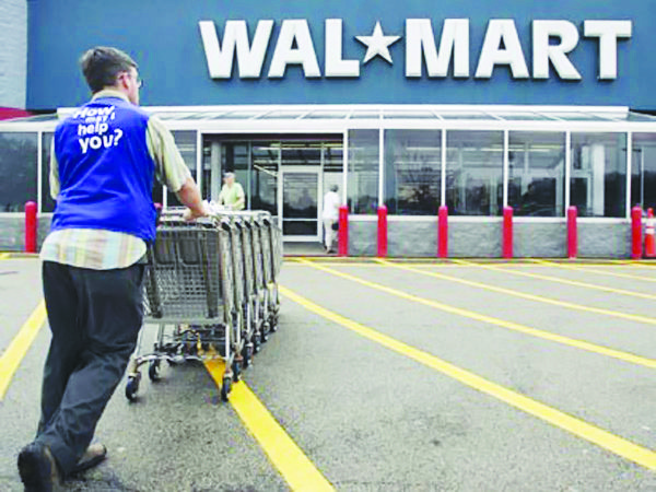 Wal-Mart had planned to build six stores in the District.