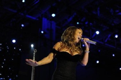 "Mariah Carey is ""fine"" a day after an accident during a video shoot in New York on Sunday night, her ..."