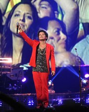 Bruno Mars wowed audiences during his recent Boston performance.