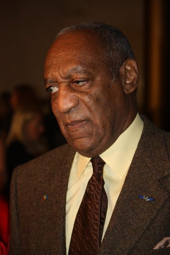 It might be summer, but Bill Cosby has sweaters on his mind.