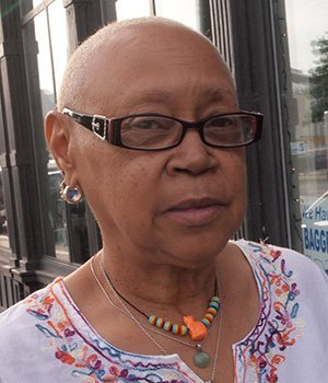 """""""Staying in the house with central air conditioning."""" — Gloris Macklin, Retired Social Worker, Roxbury"""