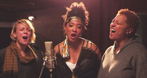 "Jo Lawry, Judith Hill and Lisa Fischer in ""20 Feet from Stardom"" (Tremolo Productions)"