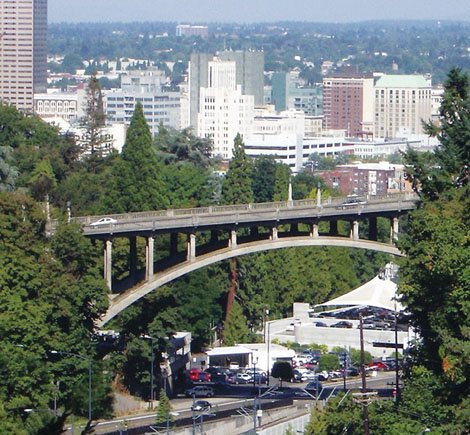 The iconic Vista Bridge has been the scene to a number of suicides through the years. In an effort to prevent additional deaths, Portland City Commissioner Steve Novick Tuesday ordered the immediate construction of a 9-foot-tall mesh screen on the span to service as a barrier until a long-term solution can be found.  Since the beginning of 2013 three people have jumped to their deaths from the bridge, including a 15-year-old girl.
