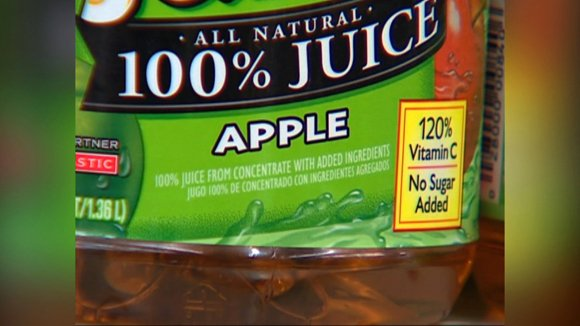 FDA proposes new rules for arsenic levels in apple juice