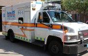 A Boston Emergency Medical Services ambulance.
